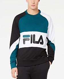 Fila Men's Luis Colorblocked Long-Sleeve T-Shirt