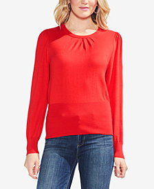 Vince Camuto Puff-Sleeve Sweater