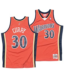 Men's Stephen Curry Golden State Warriors Hardwood Classic Swingman Jersey