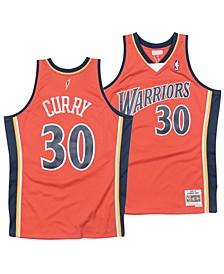 Men's Stephen Curry Golden State Warriors Hardwood Classic Swingman Jersey