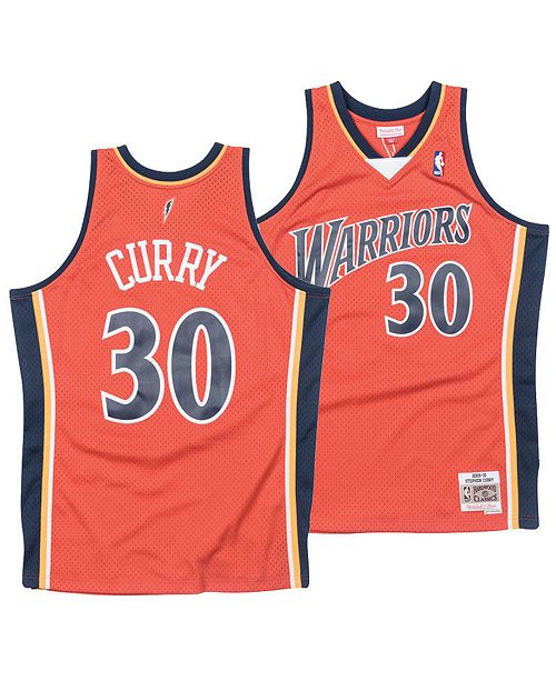 98d3a30d9 ... Mitchell   Ness Men s Stephen Curry Golden State Warriors Hardwood  Classic Swingman Jersey ...