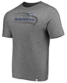 Majestic Men's Seattle Seahawks Static Fade T-Shirt