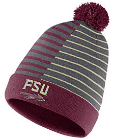 Nike Florida State Seminoles Striped Beanie Knit Hat