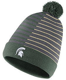 Nike Michigan State Spartans Striped Beanie Knit Hat