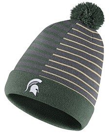 Nike Michigan State Spartans Striped Beanie Knit Hat