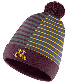 Nike Minnesota Golden Gophers Striped Beanie Knit Hat