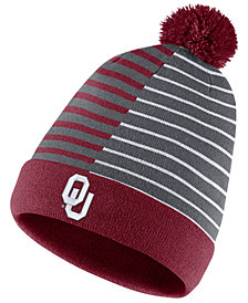 Nike Oklahoma Sooners Striped Beanie Knit Hat