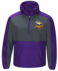 G-III Sports Men's Minnesota Vikings Leadoff Lightweight Jacket