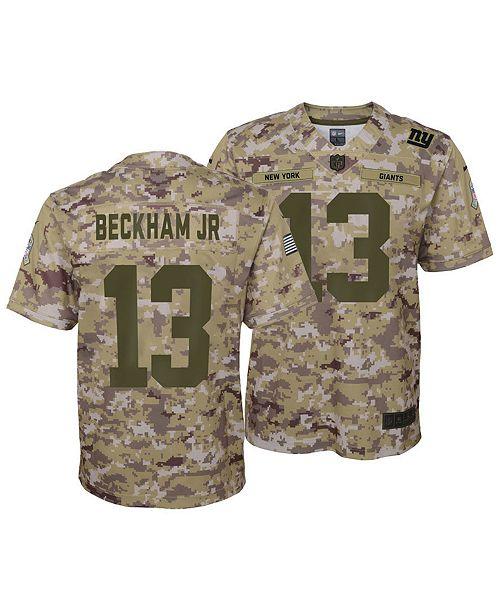1a087f3ac4a18d ... Nike Odell Beckham Jr. New York Giants Salute To Service Jersey 2018,  Big Boys ...