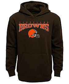 Outerstuff Cleveland Browns Fleece Hoodie, Big Boys (8-20)