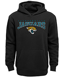 Outerstuff Jacksonville Jaguars Fleece Hoodie, Big Boys (8-20)