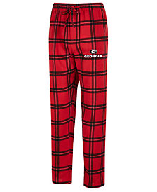Concepts Sport Men's Georgia Bulldogs Homestretch Flannel Pajama Pants
