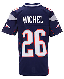 Nike Sony Michel New England Patriots Game Jersey, Big Boys (8-20)