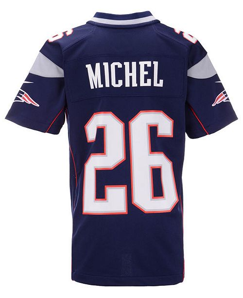 6400b23a904 ... Nike Sony Michel New England Patriots Game Jersey