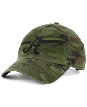'47 Brand Alabama Crimson Tide Regiment Clean Up Strapback Cap Men Activewear - Sports Fan Shop By Lids