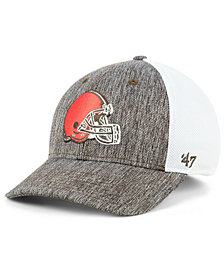 '47 Brand Cleveland Browns Hazy Flex CONTENDER Stretch Fitted Cap