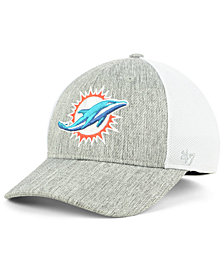 '47 Brand Miami Dolphins Hazy Flex CONTENDER Stretch Fitted Cap