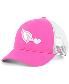 '47 Brand Girls' Arizona Cardinals Sugar Sweet Mesh Adjustable Cap