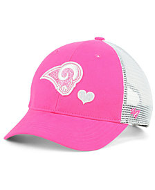 '47 Brand Girls' Los Angeles Rams Sugar Sweet Mesh Adjustable Cap