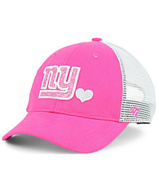 '47 Brand Girls' New York Giants Sugar Sweet Mesh Adjustable Cap
