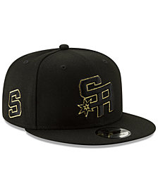 New Era San Antonio Spurs Mishmash 9FIFTY Snapback Cap