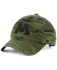 '47 Brand Minnesota Golden Gophers Regiment CLEAN UP Strapback Cap