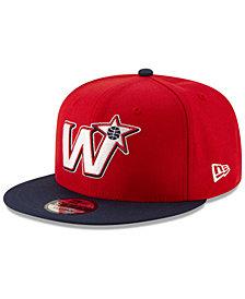 New Era Washington Wizards Light City Combo 9FIFTY Snapback Cap