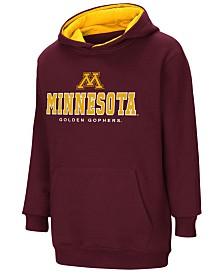 Colosseum Minnesota Golden Gophers Pullover Hooded Sweatshirt, Big Boys (8-20)