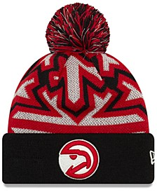 Atlanta Hawks Glowflake Cuff Knit Hat