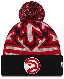 New Era Atlanta Hawks Glowflake Cuff Knit Hat