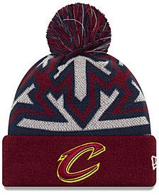 New Era Cleveland Cavaliers Glowflake Cuff Knit Hat