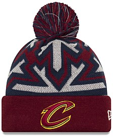 New Era Cleveland Cavaliers Glowflake Cuff Knit Hat