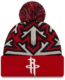 Houston Rockets Glowflake Cuff Knit Hat