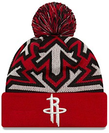 New Era Houston Rockets Glowflake Cuff Knit Hat
