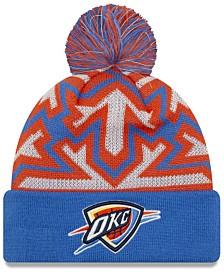 New Era Oklahoma City Thunder Glowflake Cuff Knit Hat