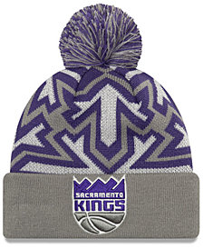 New Era Sacramento Kings Glowflake Cuff Knit Hat