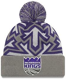 New Era Sacramento Kings Glowflake Cuff Knit Hat