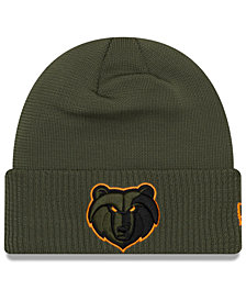 New Era Memphis Grizzlies Tip Pop Cuffed Knit Hat
