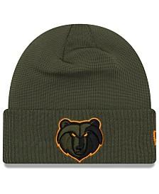 New Era Memphis Grizzlies Tip Pop Cuffed Knit Hat