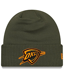 New Era Oklahoma City Thunder Tip Pop Cuffed Knit Hat