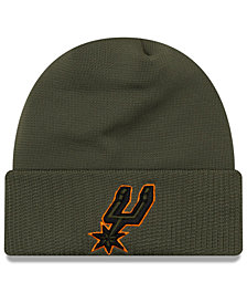 New Era San Antonio Spurs Tip Pop Cuffed Knit Hat