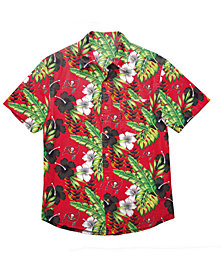 Forever Collectibles Men's Tampa Bay Buccaneers Floral Camp Shirt