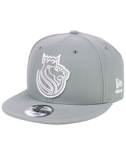 new concept look for designer fashion New Era Sacramento Kings Logo Trace 9FIFTY Snapback Cap & Reviews ...