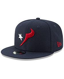 New Era Boys' Houston Texans Logo Elements Collection 9FIFTY Snapback Cap