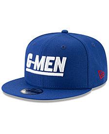 New Era Boys' New York Giants Logo Elements Collection 9FIFTY Snapback Cap