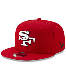 New Era Boys' San Francisco 49ers Logo Elements Collection 9FIFTY Snapback Cap