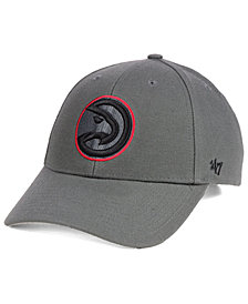 '47 Brand Atlanta Hawks Charcoal Pop MVP Cap