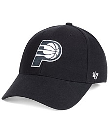 Indiana Pacers Black White MVP Cap