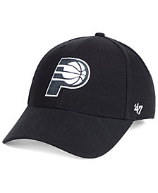 '47 Brand Indiana Pacers Black White MVP Cap