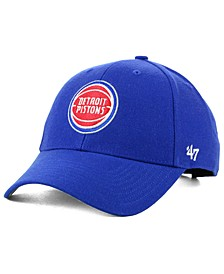 Detroit Pistons Team Color MVP Cap